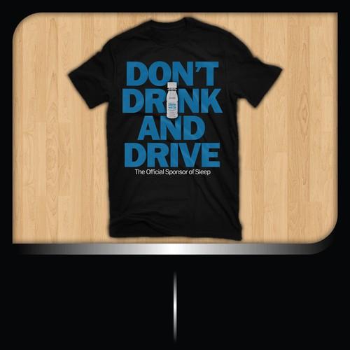 t-shirt design for Dream Water