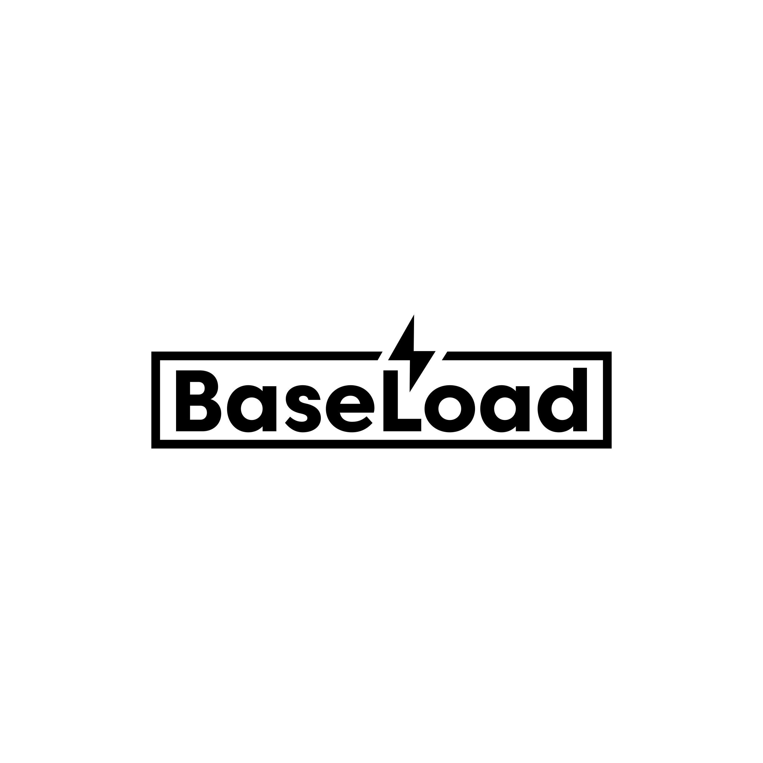 Baseload an industrial power generator needs a logo