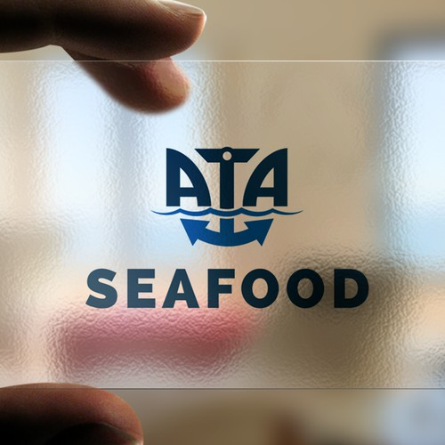 Logo for ATA sea food