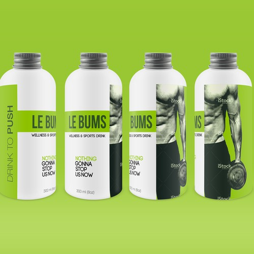 Le bums wellness drink