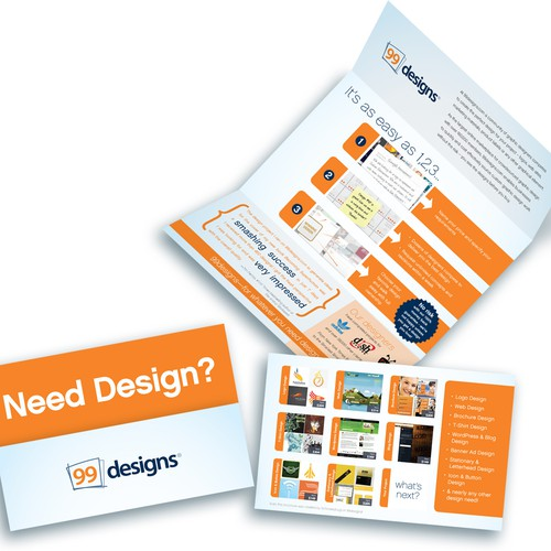 Super Slick Brochure Needed for 99designs.com