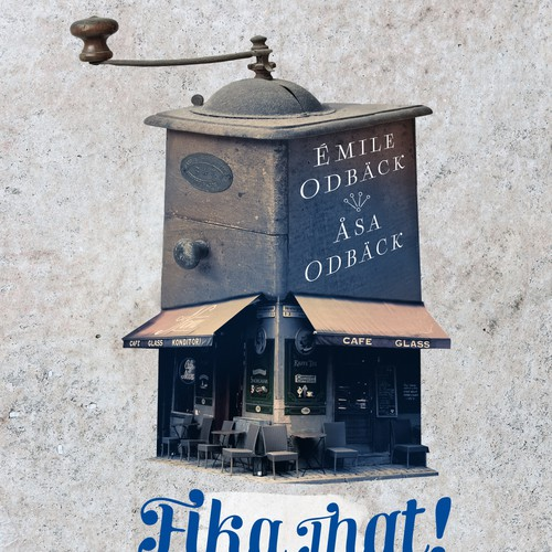 """book cover for """"Fika That!"""""""