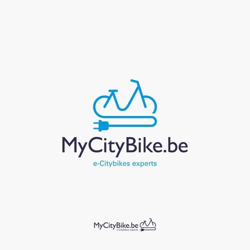 Logo per biciclette elettriche