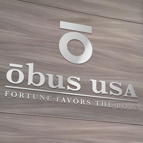 Brand Logo Design    -- Obus USA --