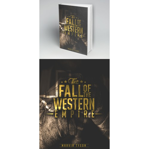 """Book Cover - """"Fall of the Western Empire"""""""