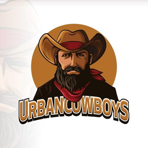 Cowboy Mascot Logo