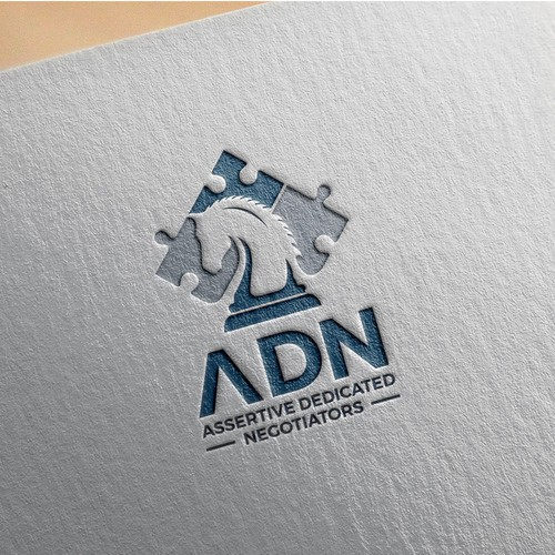Modern, bold  logo for a dedicated negotiation team