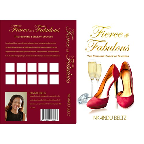 """Book Cover for """"Fierce & Fabulous"""""""