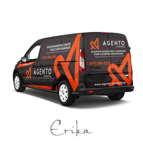 Ford Transit Connect Wrap - Marketing Services