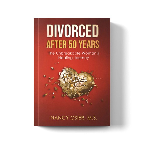 'Divorced After 50' book cover