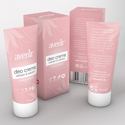 Luxury package design concept for Avenir