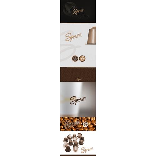Spresso Premium Coffee Capsules Branding
