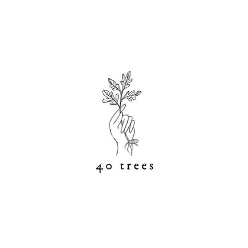 40 Trees Logo