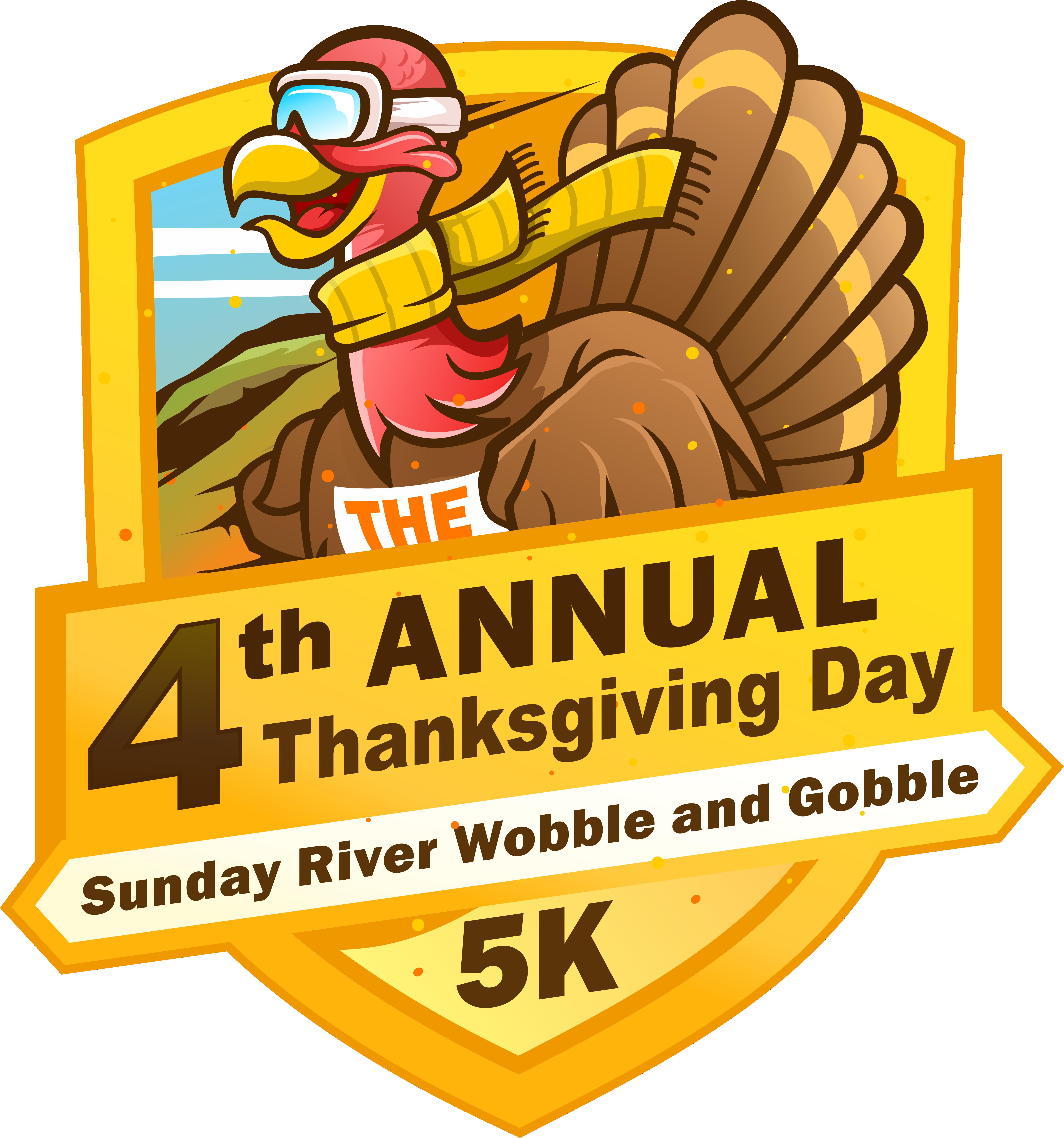 Thanksgiving Day 5K Logo