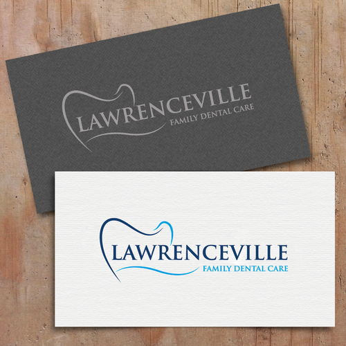 New Dental Office-nice and simple logo with dental elements involved.