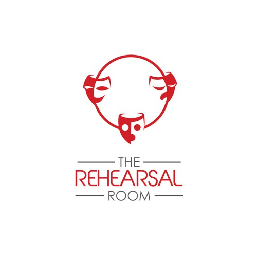 Bold logo for an Acting Institute