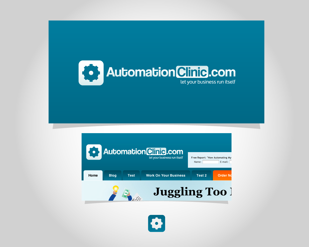 New logo wanted for AutomationClinic.com - Web 2.0 style!