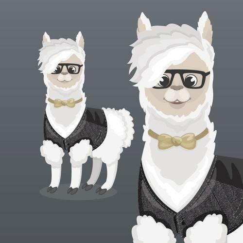 llama mascot