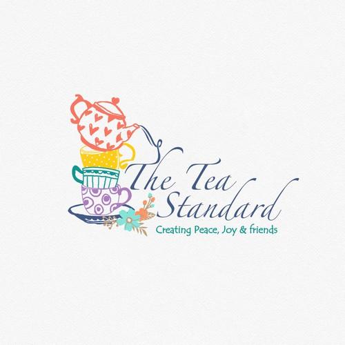 Wacky logo for start up Tea company