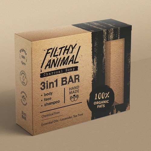 Filthy Animal - Charcoal Soap