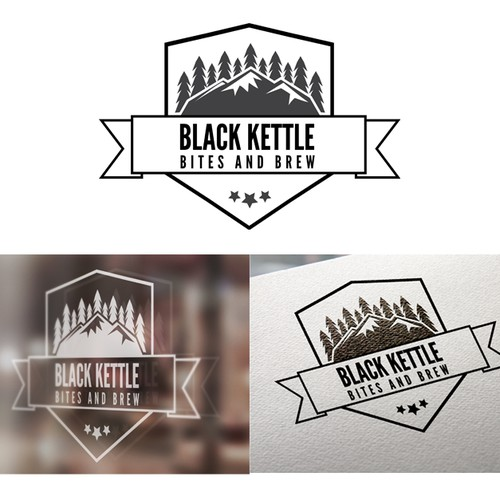 "New Bar opening, Need Logo ""Black Kettle Bites and Brew"""
