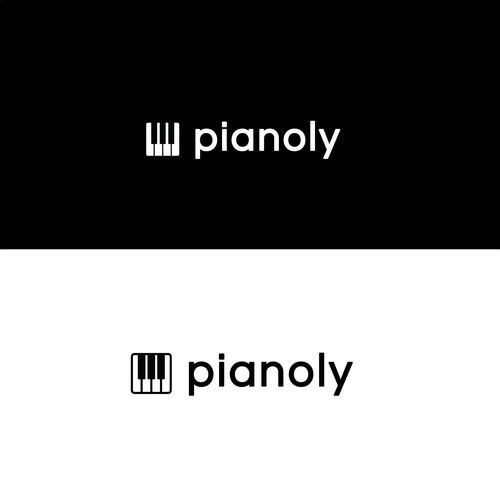 Simple App based logo design for Online Piano company