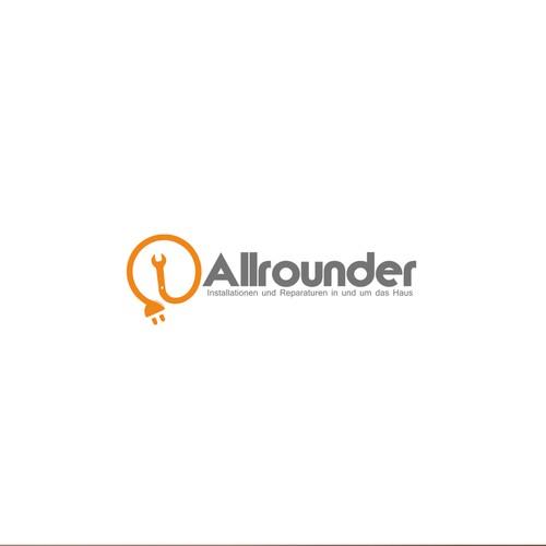 Allrounder Logo Contruction