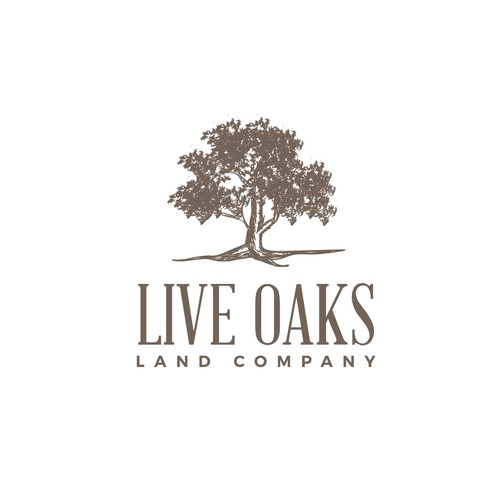 logo for land investment firm