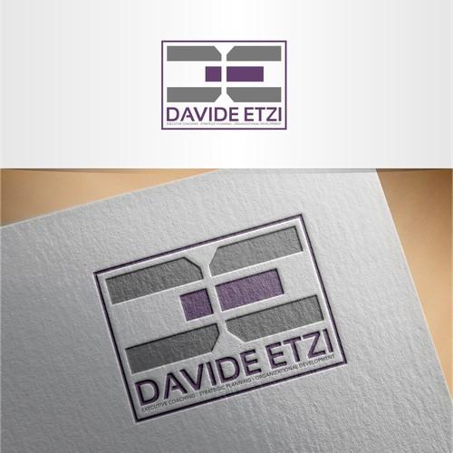 Davide etzi logo design