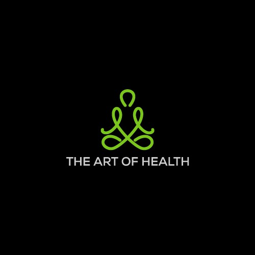 Simple Yoga logo concepts