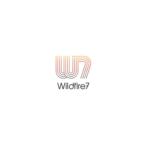 Logo concept for Wildfire 7