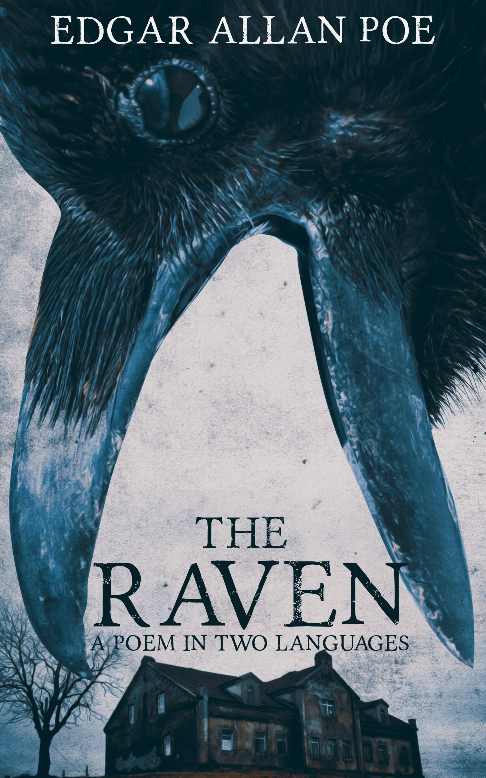 "Book cover contest for Edgar Allan Poe's, ""The Raven"""