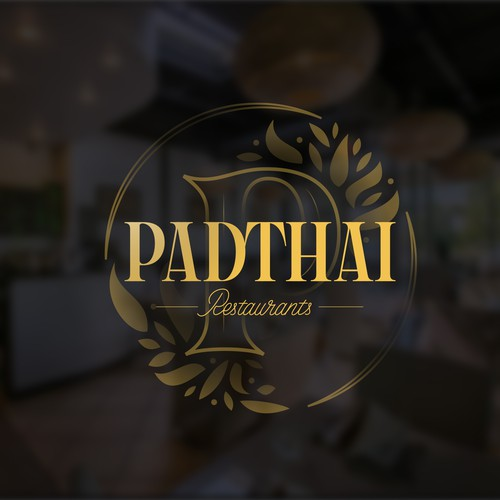 Luxurious logo for asian food restaurant