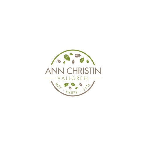 Clean logo For Ann Christin Vallgren