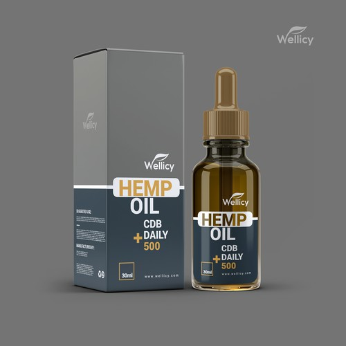 label and packaging for Wellicy