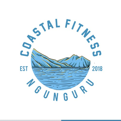 coastal fitness concept