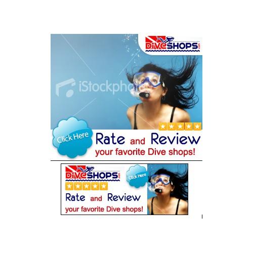 Online Banner Ads for Dive Shops.com