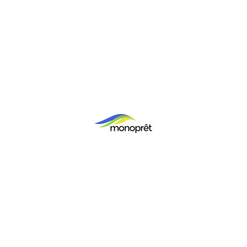 Logo concept for monopret