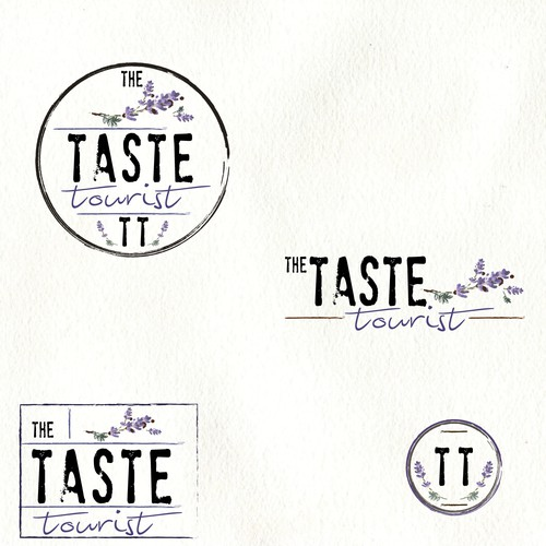 logo for new food and travel blog