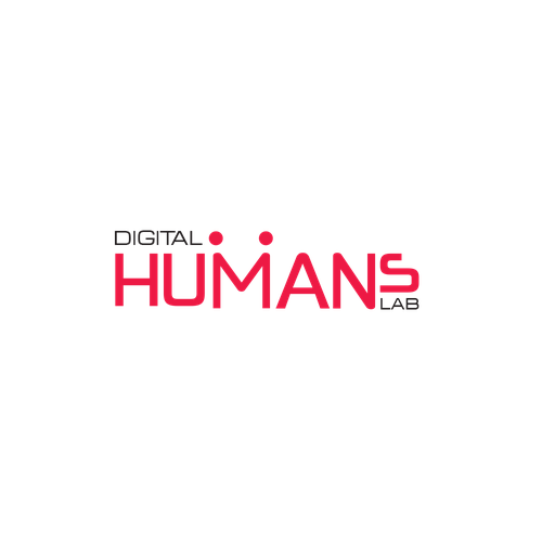 Logo for UX design agency DIGITAL HUMANS LAB