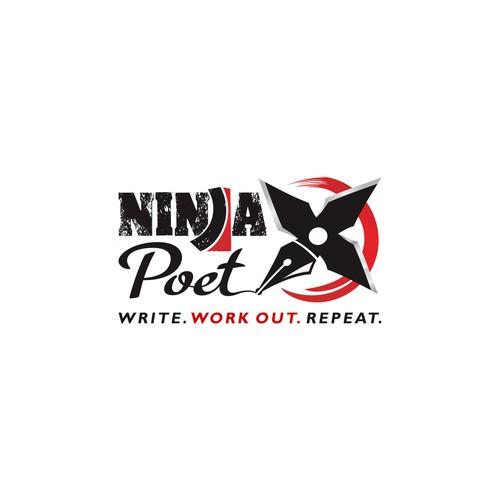 American Ninja - Poet logo
