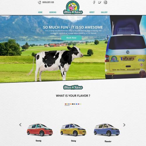 Campervan Company Website
