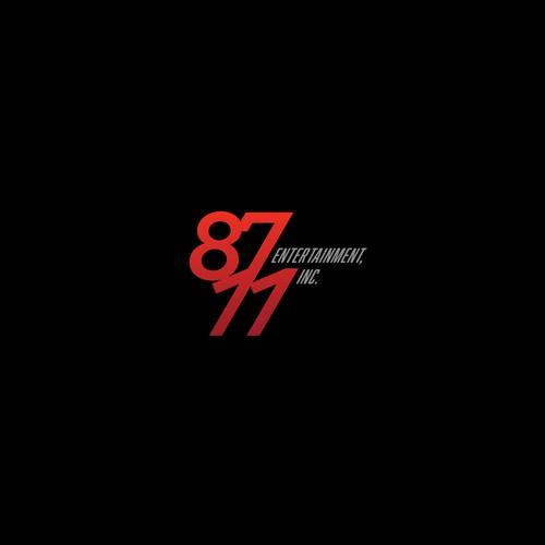 Bold Logo Concept for 8711 Entertainment, Inc.