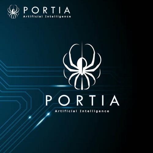 Modern and Unique AI logo