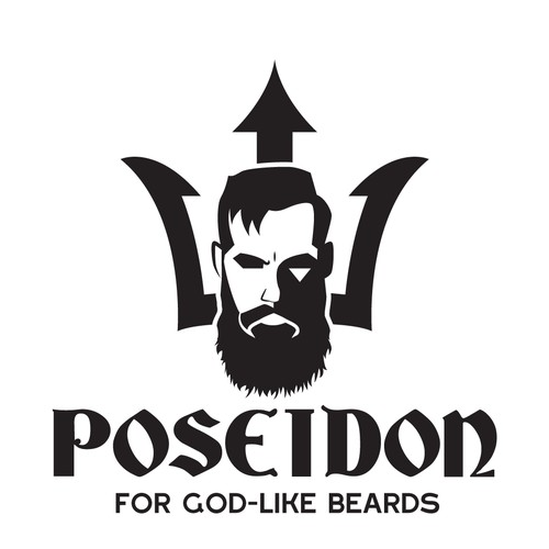 Bold Logo concept for beard oil