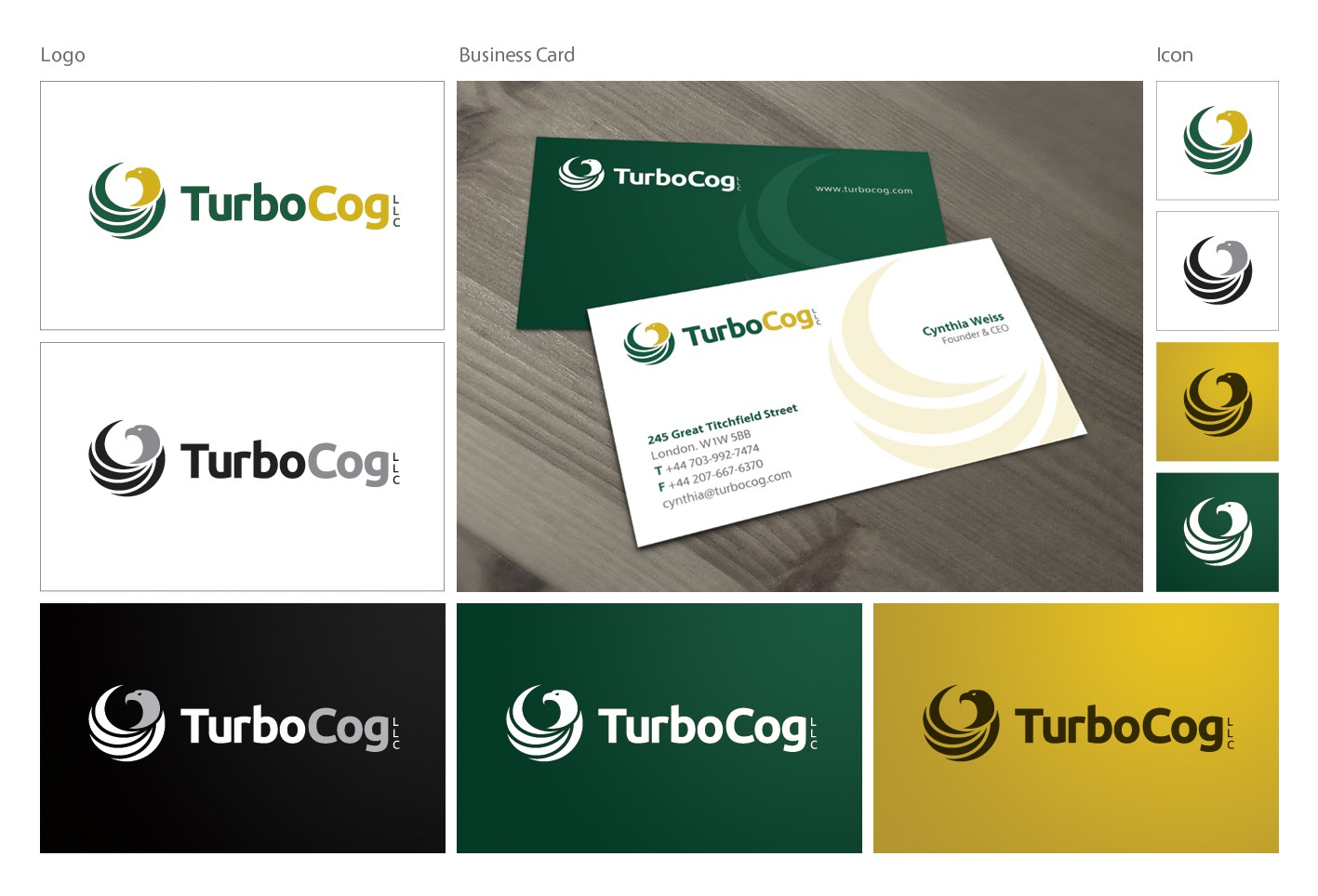 New logo wanted for TurboCog LLC