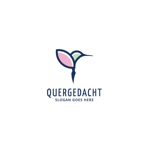 Logo concept for Quergedacht
