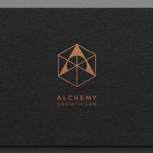 logo concept for a business strategy company