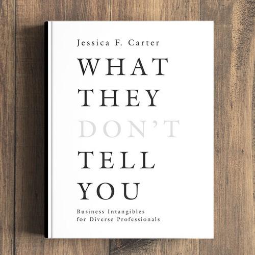 minimalist design for book cover
