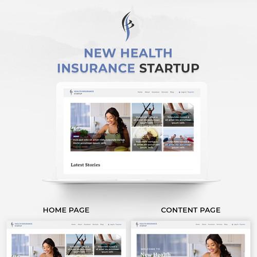 Creative Health Insurance News Website